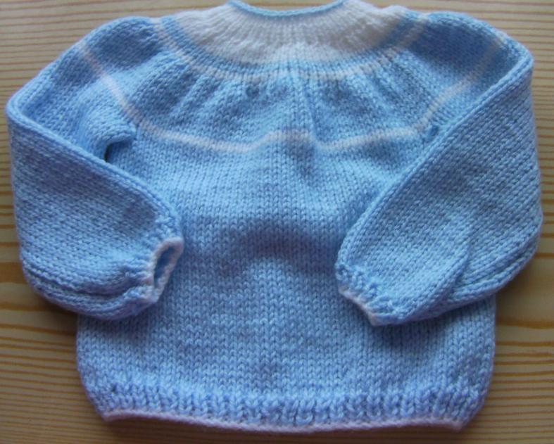 Bebek Bluz Örgü Modelleri
