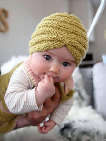 Bebek Örgü Bere Örnekleri