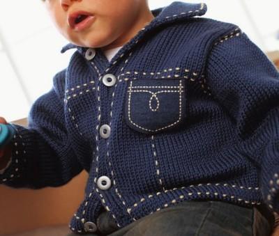Erkek Bebek Örgü Modelleri