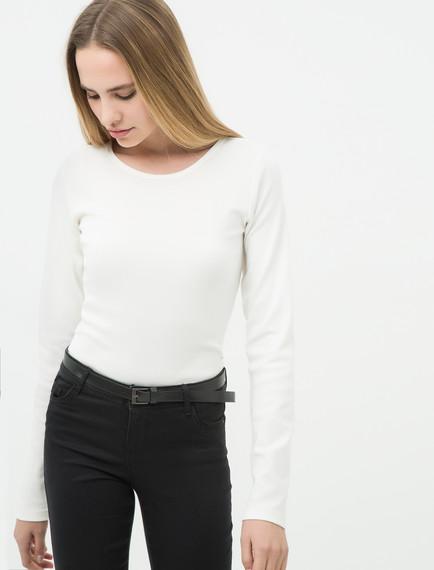 Koton Bayan Kayık Yakalı T-Shırt Modelleri