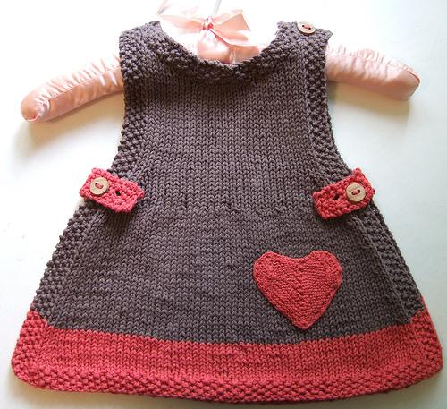 Bebek Elbise Örgü Modelleri