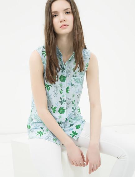 Koton Bayan Desenli Gömlek Modelleri