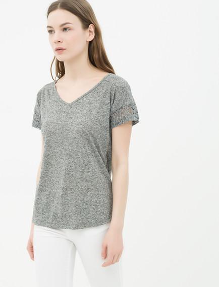 Koton Bayan V Yaka T-Shirt Modelleri