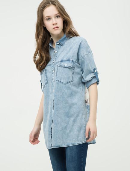 Koton Bayan Jean Gömlek Modelleri
