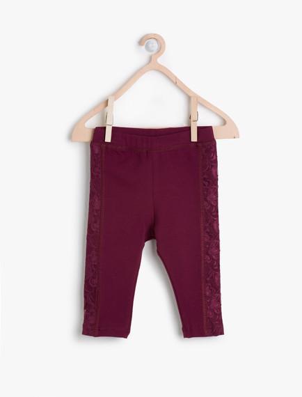 Koton Kız Bebek Jean Pantolon Modelleri