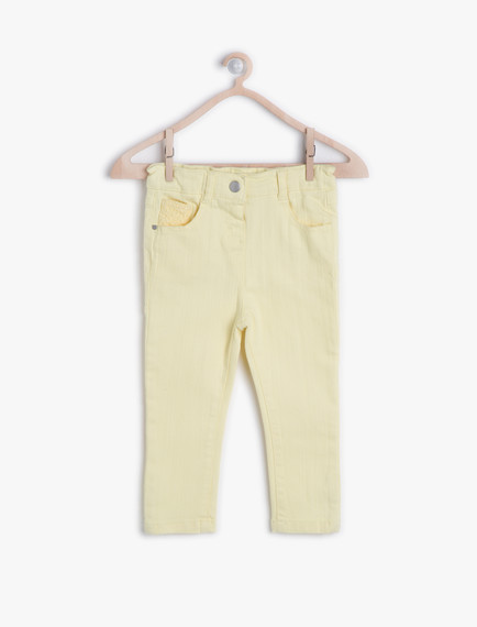 Koton Kız Bebek Pantolon Modelleri