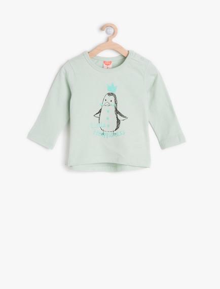 Koton Kız Bebek T-Shirt Modelleri
